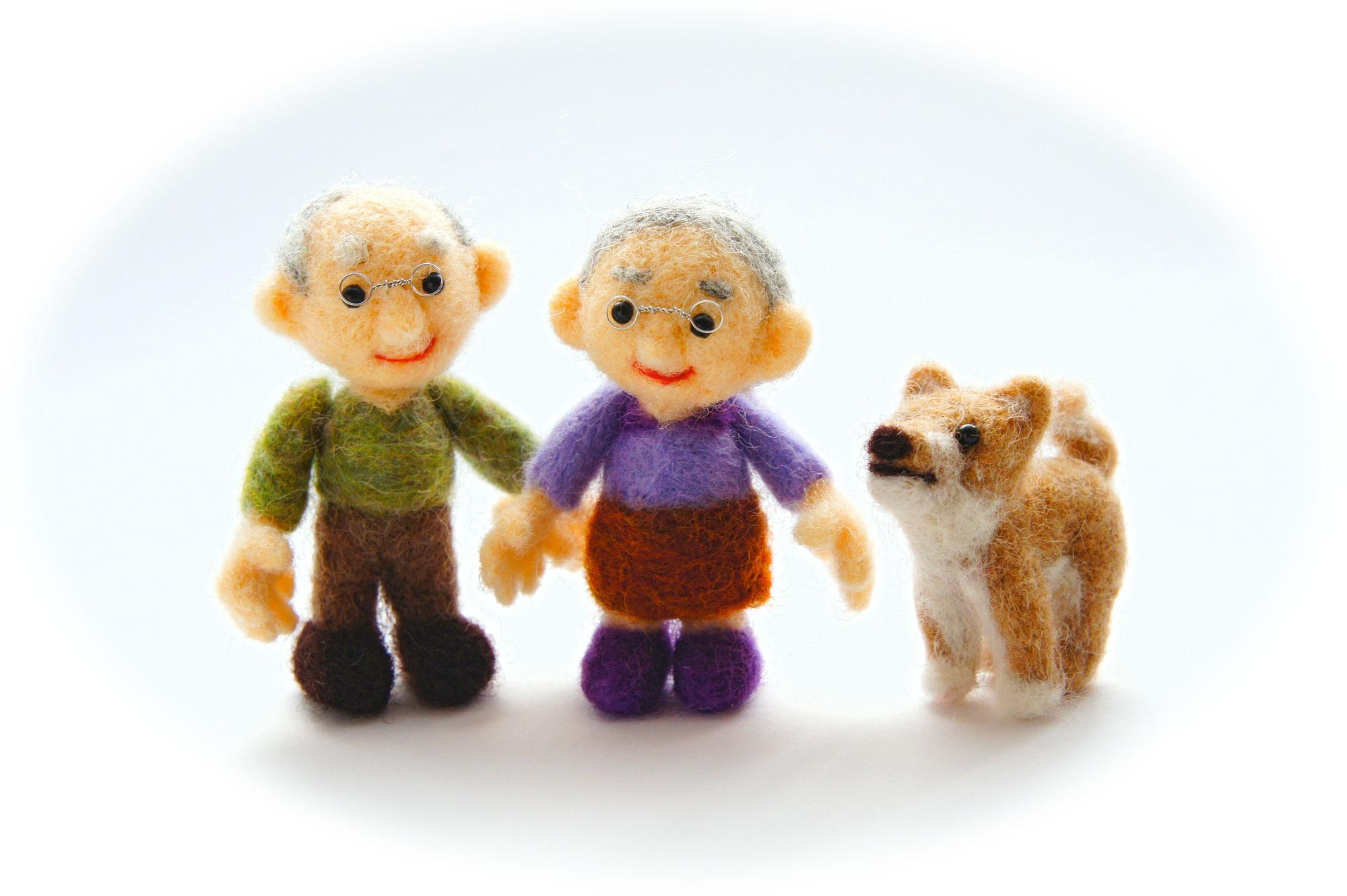 高齢者とペット〜理想か罪か